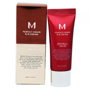 Missha M Perfect Cover BB крем, оттенок Natural Beige, 20 мл